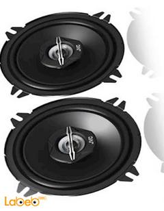 سماعات دائرية للسيارة JVC - قدرة 250 واط - لون أسود - CS-J520X