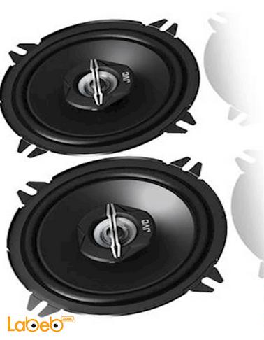 سماعات دائرية للسيارة JVC قدرة 250 واط لون أسود CS-J520X