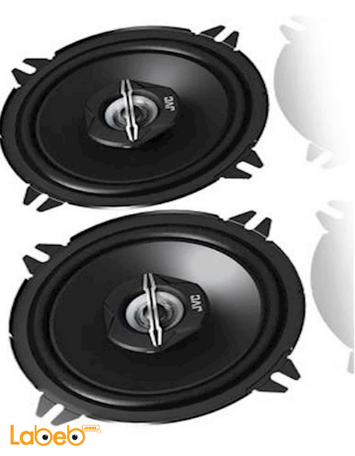 JVC 2-Way Coaxial Speakers 250w Black color CS-J520X model