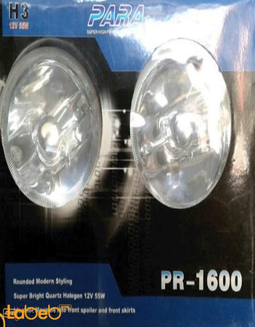 أضواء أمامية LED للسيارات 12 فولت 55 واط أبيض PR-1600