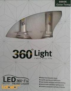 ضوء LED للسيارة 360 light - القوة 40 واط - 50000 ساعة - لون أبيض