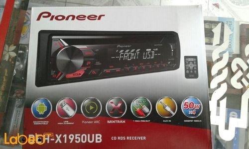مسجل للسيارة بايونير USB مشغل أقراص CD ديسك DEH-X1950UB