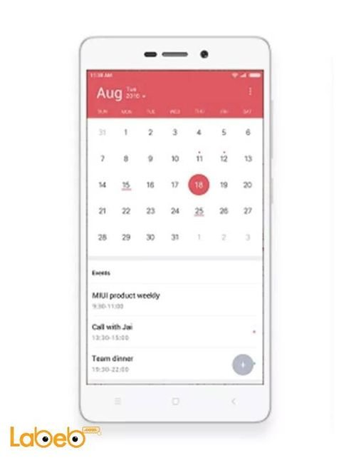 موبايل Mi Redmi 3S ذاكرة 16 جيجابايت