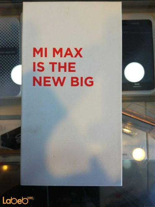 موبايل  Mi max ذاكرة 32 جيجابايت لون فضي
