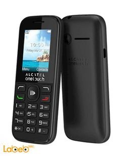 Alcatel one touch mobile - 32MB - 1.8inch - Black - 10.50D model