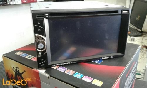 شاشة لمس للسيارة Xsound حجم 7 انش فل اتش دي منفذ AUX