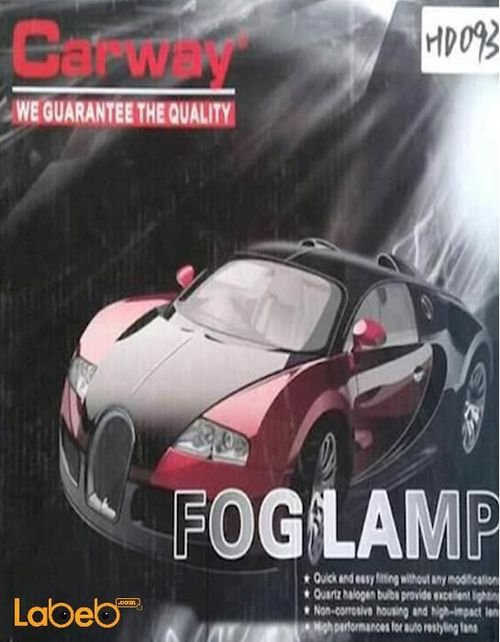 Carway Front car lights fog lamp white color HD093 model