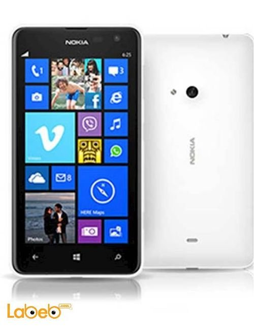 Nokia Lumia 625 smartphone 8GB 4.7inch White color