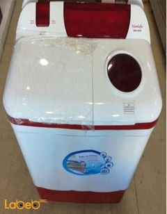 Newlife twin tub washing machine with pump - 435W wash - TRW-1409