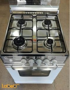 Stigg Oven - 4 Burners - 55x55 cm - White color - SG555W model