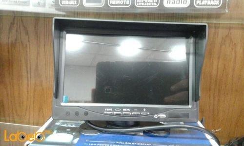 TFT LCD Headrest Monitor 7 inch USB port black color