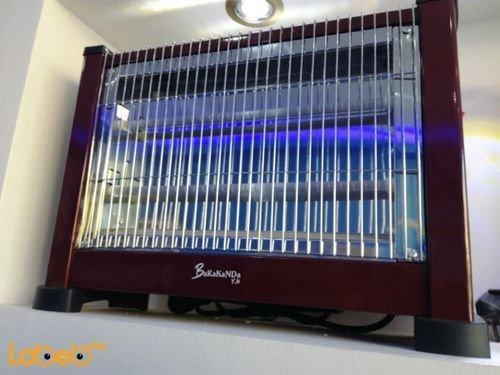 مدفئة كهربائية Barakanda قدرة 1500 واط بني Lx-1502