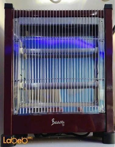 مدفئة كهربائية Barakanda قدرة 1500 واط بني موديل Lx-1502
