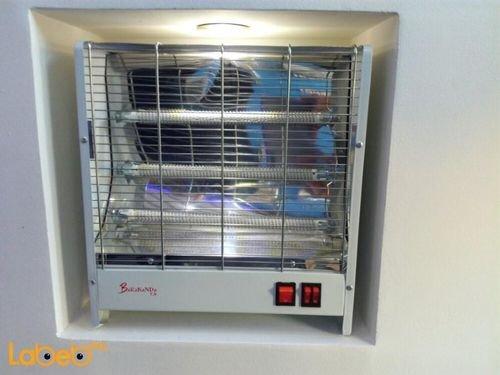 مدفئة كهربائية Barakanda قدرة 2100 واط أبيض موديل Lx-1506
