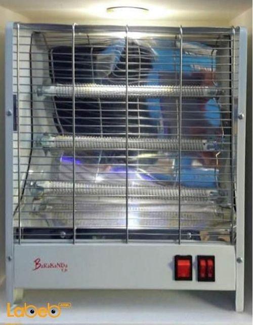 مدفئة كهربائية Barakanda قدرة 2100 واط أبيض Lx-1506