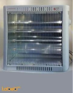 Saso Quartz heater - 1600W - White color - SA-316 model
