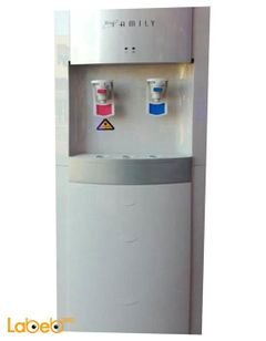 Family water cooler - 2 taps - Cold Hot - White - WP-1000 model