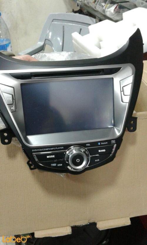 شاشة DVD ال اي دي للسيارة عالي الوضوح منفذ USB لون أسود