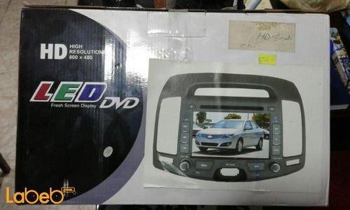 شاشة LED DVD للسيارة عالي الوضوح منفذ USB