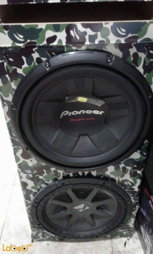 مضخم صوت للسيارة Pioneer حجم 30 سم 1400 واط TS-W311D4