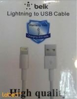 BELK Lightning to USB Cable 1M White color MD818FE model