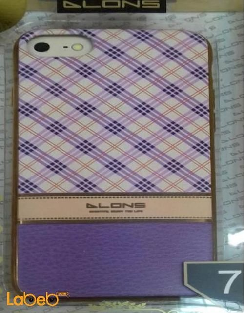 DLONS Mobile back cover for iPhone 7 smartphone purple color