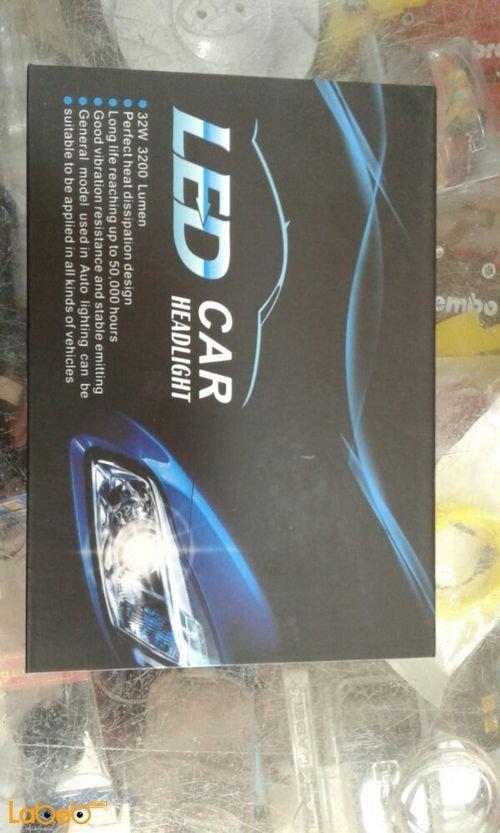 مواصفات ضوء سيارة LED قدرة 32 واط 3200 لومن يونيفرسال H11
