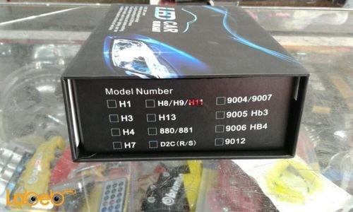 ضوء سيارة LED H11 قدرة 32 واط 3200 لومن يونيفرسال