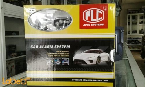 PLC Car Alarm System remote control W76 model