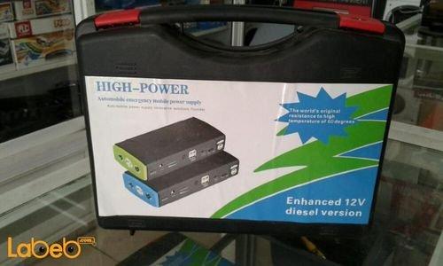 شاحن للسيارة High Power الطاقة 12 فولت لسيارات الديزل أسود