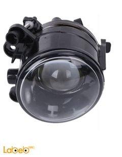 أضواء سيارة أمامية - مصابيح للضباب - عدسات شفافة - لون أبيض