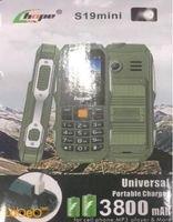 موبايل هوبي ذو بطارية محمولة أخضر S19 mini