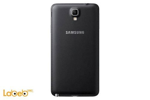 back Samsung galaxy note 3 Neo smartphone Black