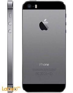 موبايل ايفون 5S ابل - ذاكرة 16 جيجابايت - 4 انش - رمادي - A1457