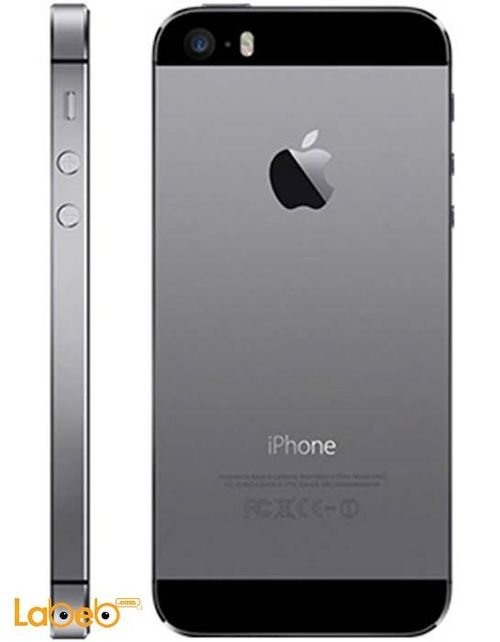 space gray Apple iPhone 5S smartphone