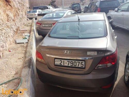 سيارة هونداي أكسنت 1600 سي سي لون برونزي سنة 2015