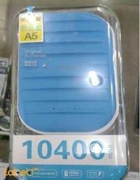 بطارية محمولة اليمينت 10400 ميلي أمبير بالساعة USB أزرق