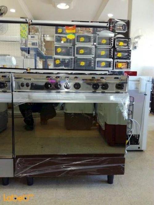 Stigg Oven 5 Burners 60x80 cm Brown SG855W model