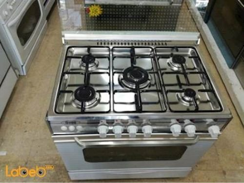 Stigg Oven 5 Burners 60x80cm size White SG855W model