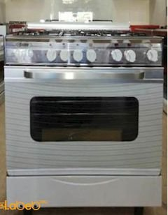 Stigg Oven - 5 Burners - 60x80 cm - White - SG855W model