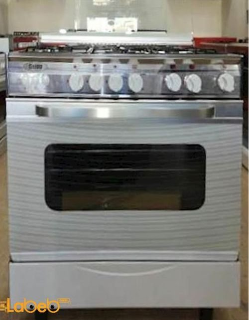 Stigg Oven 5 Burners 60x80 cm White SG855W model