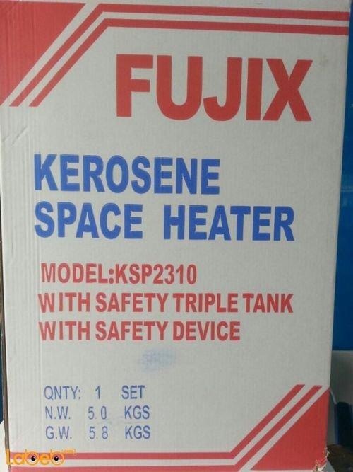 Fujix kerosena space heater 5L Red color KSP2310