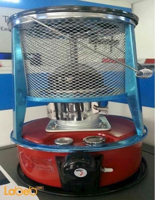 Fujix kerosena space heater 5L Safety Red KSP2310