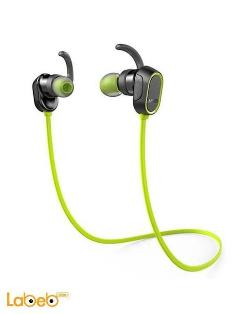 Anker Bluetooth 4.0 SoundBuds Sport Black & Green A32330M1