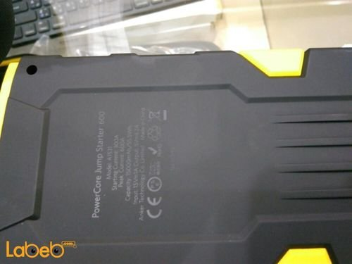 Anker powercore jump starter 600A 15000mAh Black and yellow A1531