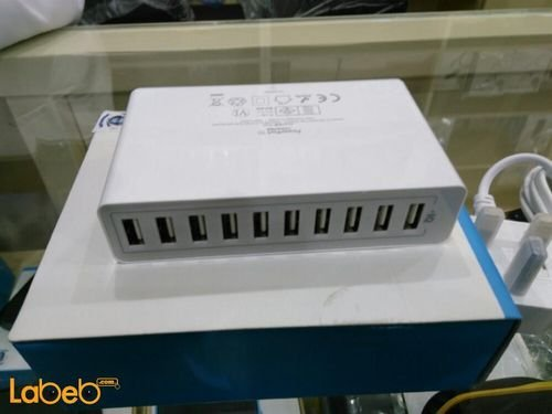 Anker Wall Charger 10xUSB ports White color A2133221