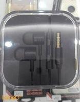 Mi Piston 2 earphones 3.5mm 2mw black color EN50332-2