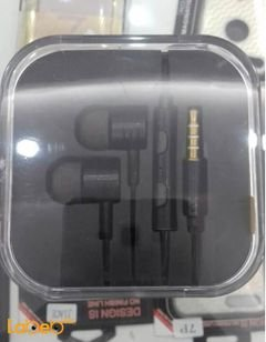 Mi Piston 2 earphones - 3.5mm - 2mw - black color - EN50332-2