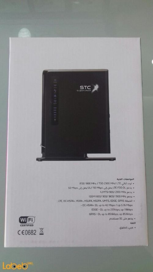 specifications STC QUICKnet 4G Router E5172s