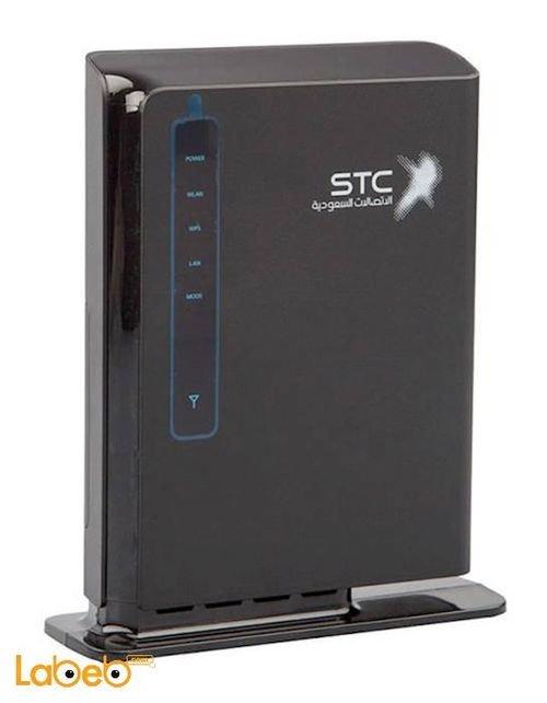 راوتر STC كويك نت سرعة 150 ميجابايت لون أسود موديل E5172s